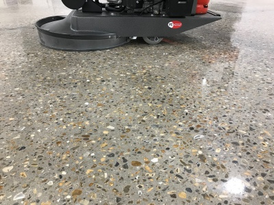 Polished Concrete - Burnishing