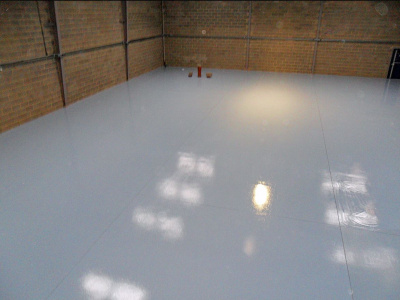 High Build Epoxy Coating - Industrial warehouse